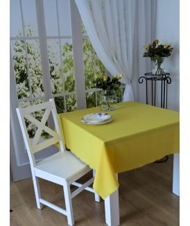 Obrus Galia Żółty